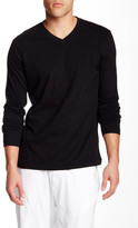 Mod-o-doc Mododoc Vintage Fit Long Sleeve V-Neck Tee