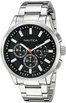 Nautica Men's NAD19532G NCT 17 Analog Display Quartz Black Watch