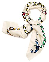 Tory Burch Rope Silk Square Scarf