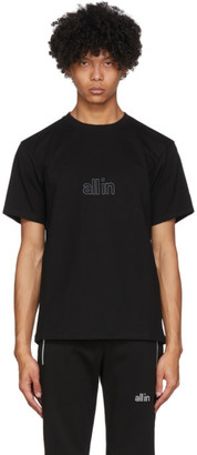 all in Black Wave T-Shirt