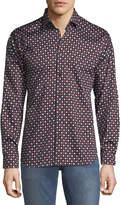Maceoo Shaped-Fit Hold-Em Sport Shirt