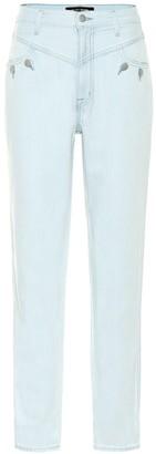 J Brand x Elsa Hosk Playday high-rise tapered jeans