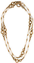 Stephen Dweck Rocky Crystal Quartz Station Necklace