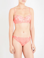 Heidi Klum Intimates Made in Eden lace contour bra