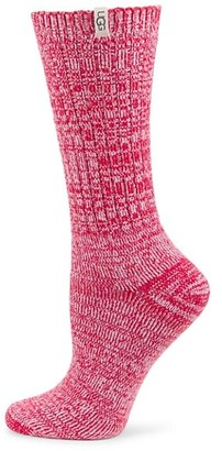 UGG Rib-Knit Slouchy Crew Socks
