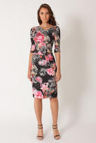 Black Halo Garden of Eden 3/4 Slv Jackie O Dress