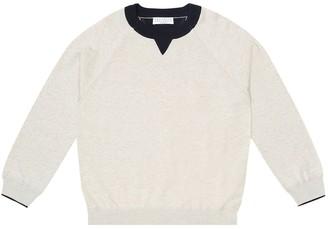 BRUNELLO CUCINELLI KIDS Cotton sweater