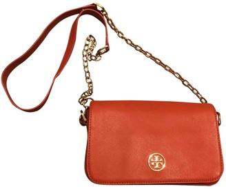 Tory Burch Orange Leather Handbags