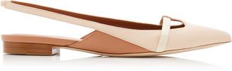 Malone Souliers Gabriella Leather Slingback Flats