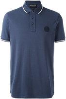 Emporio Armani logo patch polo shirt - men - Cotton - M