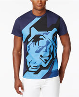 Versace Men's Tiger-Print T-Shirt