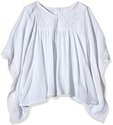 Pumpkin Patch Girl's Embroidered Yoke Kaftan Plain Top