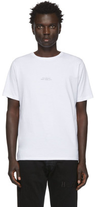 Saturdays NYC White Gotham Shadow T-Shirt