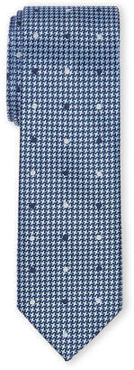 Isaac Mizrahi Boys 8-20) Houndstooth & Dot Pattern Silk Tie