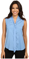 Calvin Klein Sleeveless Blouse with Detachable Scarf