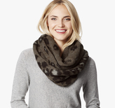 Johnston & Murphy Leopard Loop Scarf