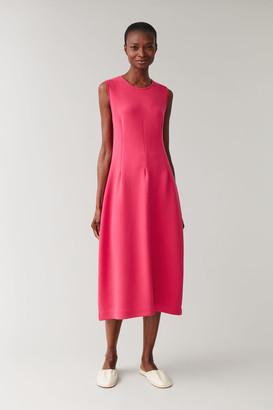 Cos Sleeveless Scuba Dress