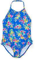 Ralph Lauren 2-6X Floral One-Piece Swimsuit