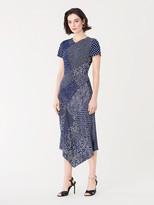 Diane von Furstenberg Briar Silk Crepe de Chine Midi Dress