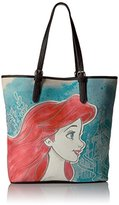 Loungefly Disney Ariel Printed Faux-Leather Tote Bag