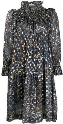 P.A.R.O.S.H. Printed Silk Dress