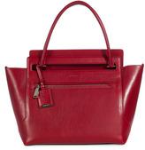 Thumbnail for your product : Jil Sander Sac en cuir rouge brique New Malavoglia