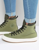 Converse Chuck Taylor All Star Ii Boot Plimsolls In Green 153570c-333