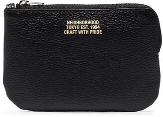 Neighborhood X Porter-Yoshida & Co black leather pouch