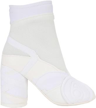 MM6 MAISON MARGIELA Mm6 Patchwork Ankle Boots