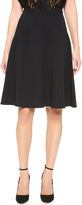 Tome Crepe Flare Skirt