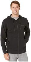 Columbia Lodgetm Full Zip Hoodie (Shark Heather) Men's Sweatshirt