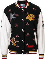 Kenzo motif sports jacket