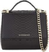 Givenchy Pandora snakeskin cross-body bag