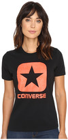 Converse Reflective Fill Box Star Short Sleeve Tee
