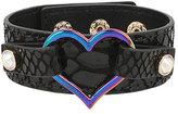 Betsey Johnson Harlem Shuffle Heart Bracelet