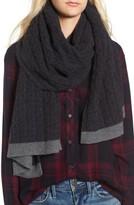 Halogen Women's Cable Knit Cashmere Scarf