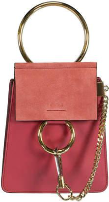 Chloé Scarlet Pink Faye Bracelet Bag