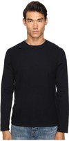 Vince Jersey Mix-Stitch Long Sleeve Crew Men's Sweater
