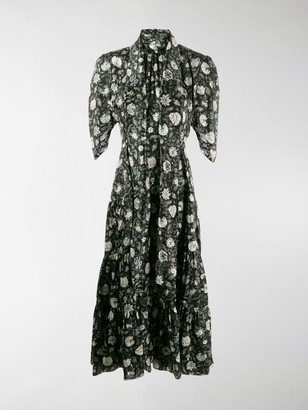 Chloé Dandelion Print Dress