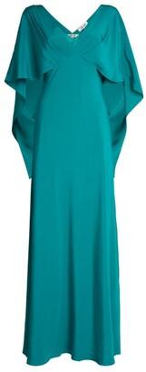 Diane von Furstenberg Alberta Cape Dress