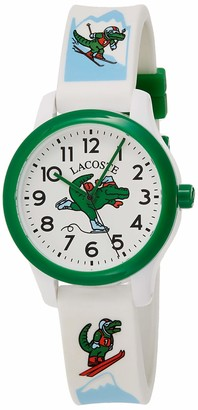 Lacoste Kids Analogue Quartz Watch with Silicone Strap 2030022