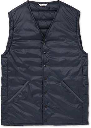 Barbour White Label White Label Quilted Shell Gilet