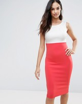 AX Paris Color Block Bodycon Dress