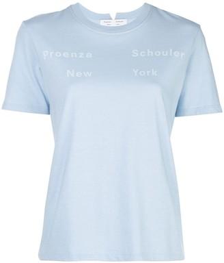 Proenza Schouler White Label logo detail T-shirt