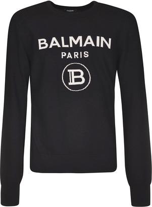 Balmain Signature Logo Sweater