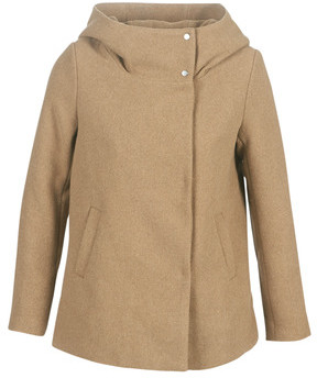 Only ONLMADDIE women's Coat in Brown