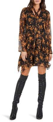 Cooper St Fortune Long Sleeve Minidress