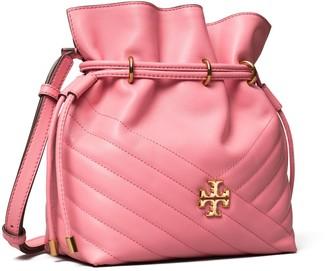 Tory Burch Kira Chevron Mini Bucket Bag