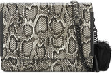 Aldo Laurino snake-embossed cross-body bag