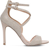 Miss KG Faleece embellished heeled sandals